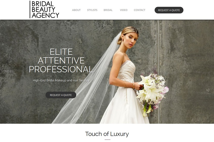 Bridal Beauty Agency wedding vendor photo