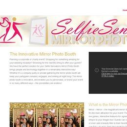 Selfie Sensations Mirror Photo Booth