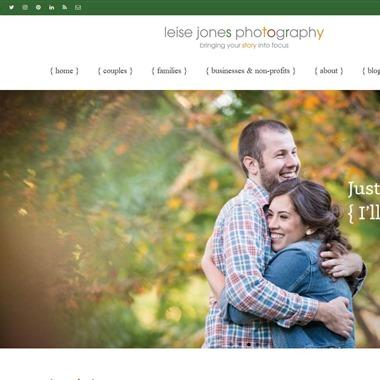 Leise Jones Photography wedding vendor preview