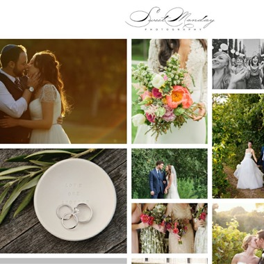 Sweet Monday Photography wedding vendor preview