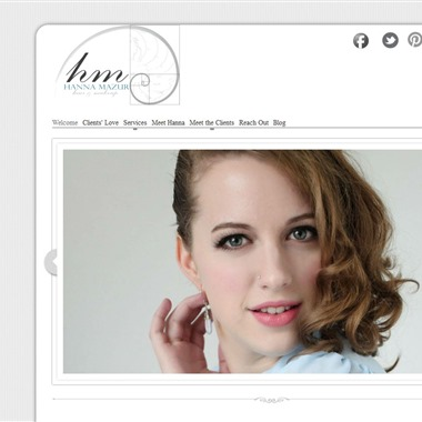 Hanna Mazur, Make-up and Hair Artist wedding vendor preview