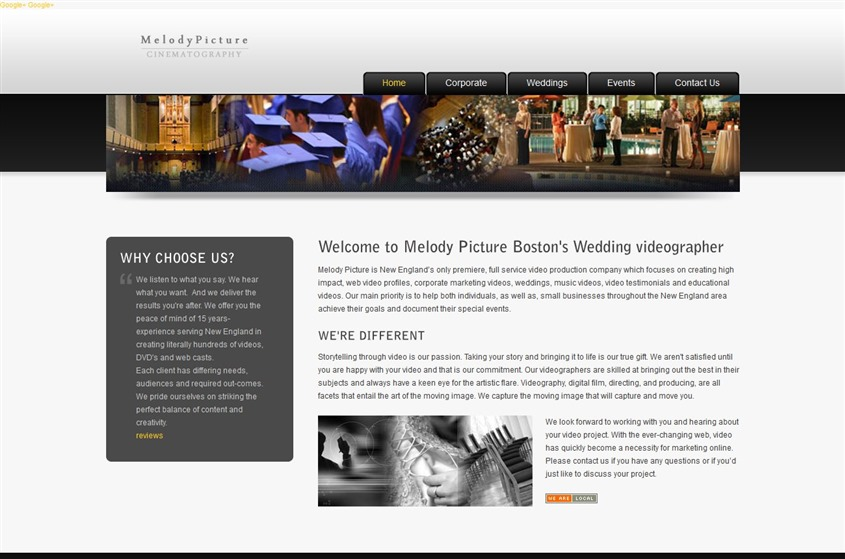 Melody Picture Cinematography wedding vendor photo
