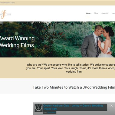 JPod Films wedding vendor preview