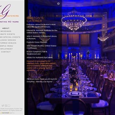Gourmet Caterers wedding vendor preview