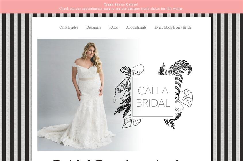 Calla Bridal wedding vendor photo