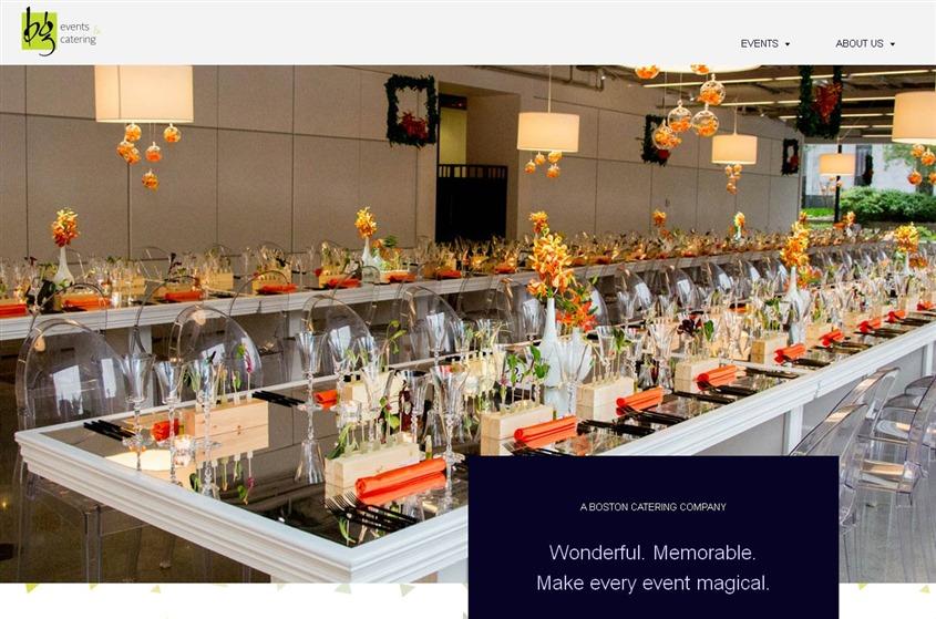 BG Events & Catering wedding vendor photo