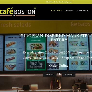Cafe De Boston wedding vendor preview