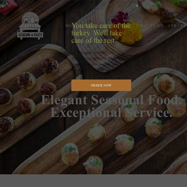 Season to Taste Catering wedding vendor preview