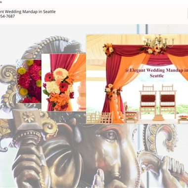 Mandap wedding vendor preview
