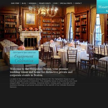The Hampshire House wedding vendor preview