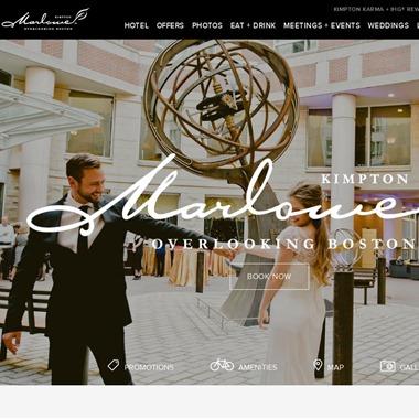 Kimpton Marlowe Hotel wedding vendor preview