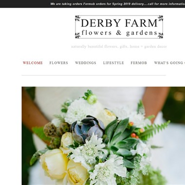 Derby Farm Flowers & Gardens wedding vendor preview