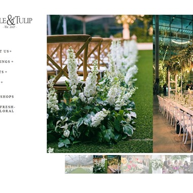 Table & Tulip  wedding vendor preview