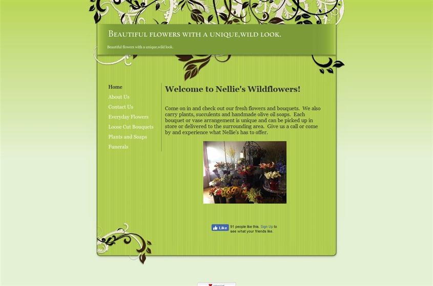 Nellie's Wild Flowers wedding vendor photo