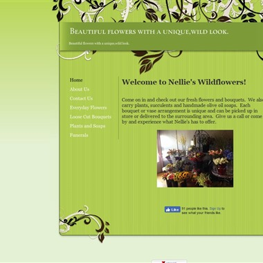 Nellie's Wild Flowers wedding vendor preview
