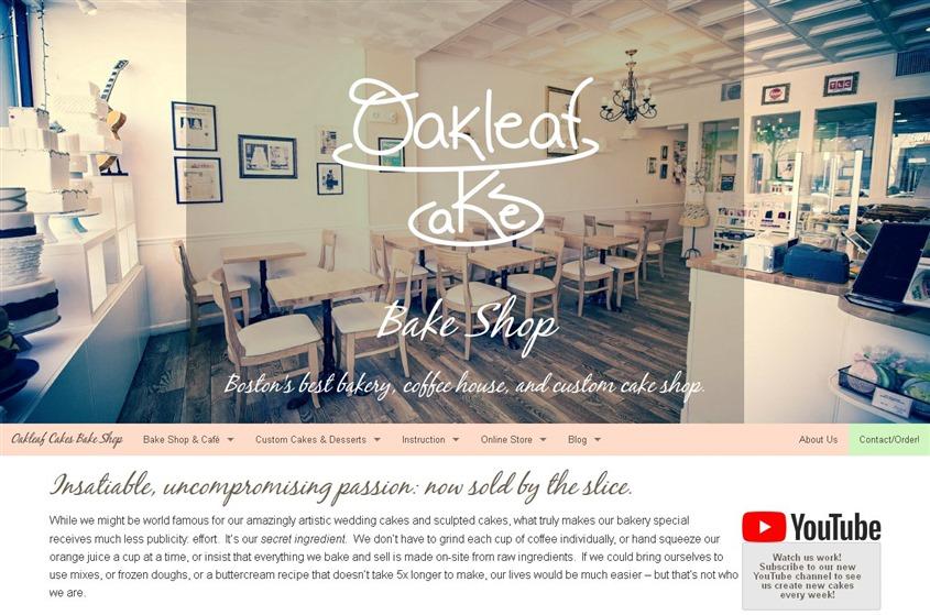 Oakleaf Cakes Bake Shop wedding vendor photo