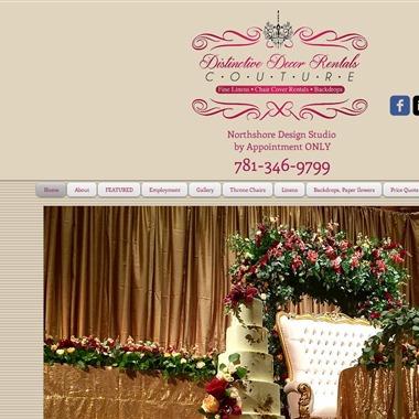 Distinctive Decor Rentals wedding vendor preview