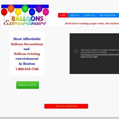 Balloons Extraordinaire wedding vendor preview