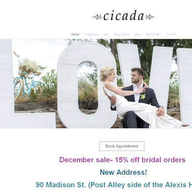 Cicada wedding vendor preview