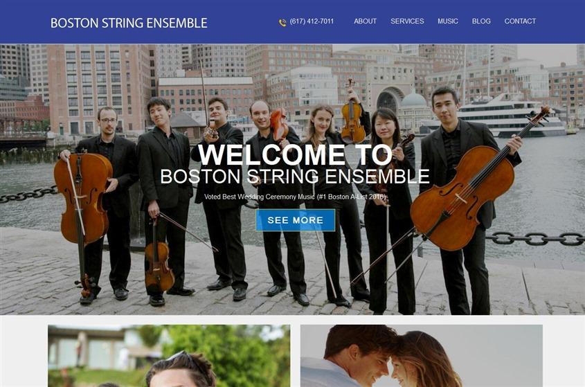 Boston String Ensemble wedding vendor photo