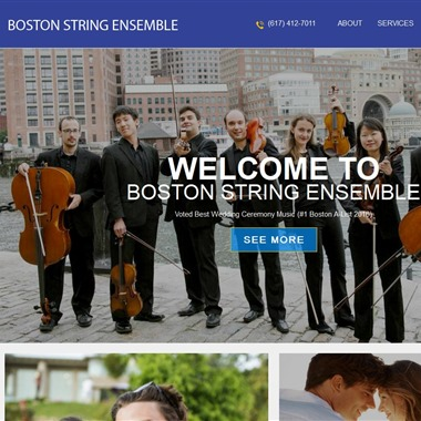 Boston String Ensemble wedding vendor preview
