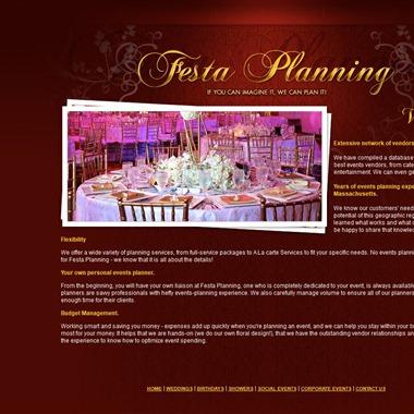 Festa Planning wedding vendor preview