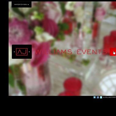 AJ Williams Events wedding vendor preview