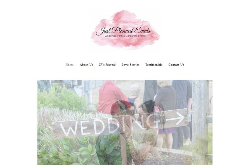 Just Planned Events wedding vendor photo