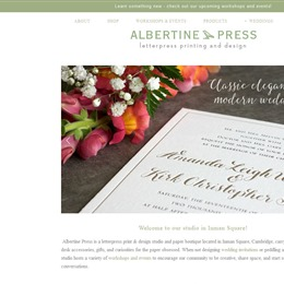 Albertine Press photo