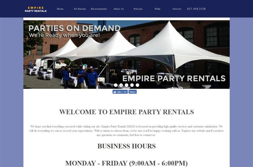 Empire Party Rentals wedding vendor photo