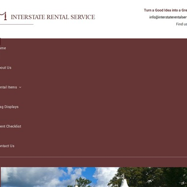 Interstate Rental Service wedding vendor preview