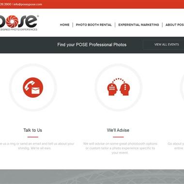 Pose Photo Booths wedding vendor preview