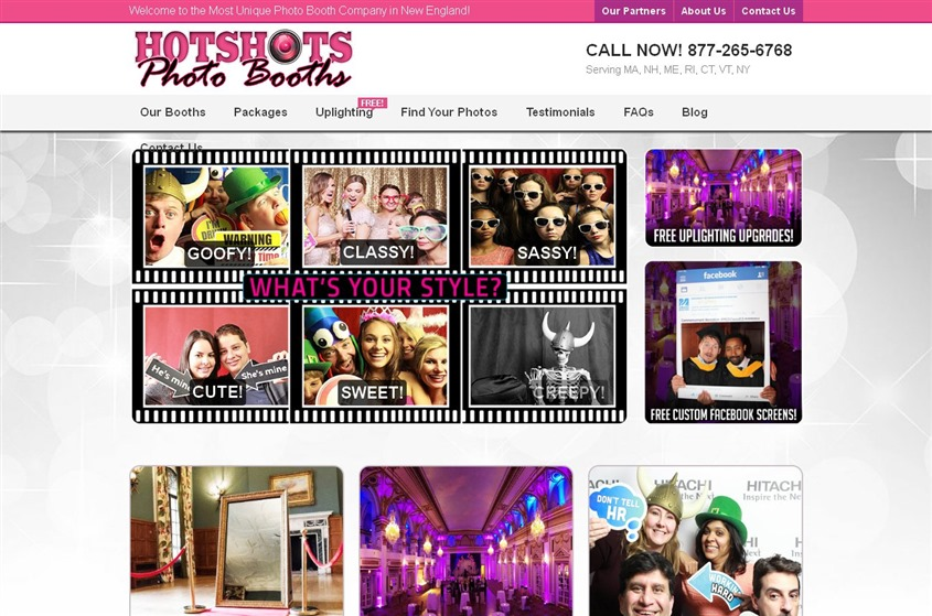 Hotshots Photo Booth Rentals wedding vendor photo