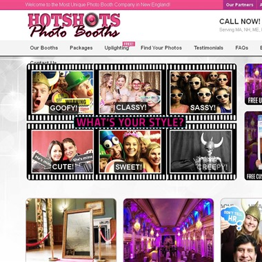 Hotshots Photo Booth Rentals wedding vendor preview