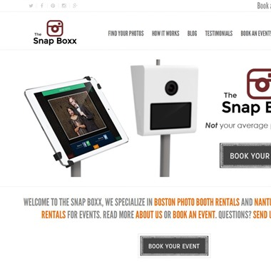 The Snap Boxx wedding vendor preview