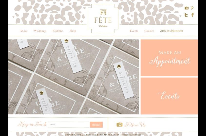 Fete Collection wedding vendor photo
