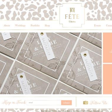 Fete Collection wedding vendor preview