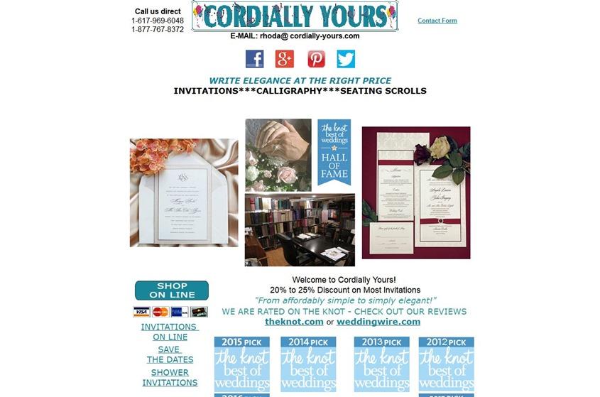 Cordially Yours Invitations wedding vendor photo