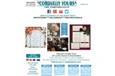 Cordially Yours Invitations thumbnail