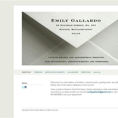Emily Gallardo wedding vendor preview