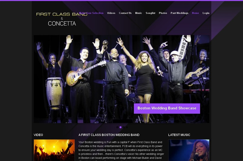 First Class Band and Concetta wedding vendor photo