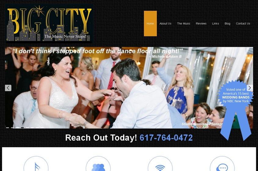 Big City Wedding Band wedding vendor photo