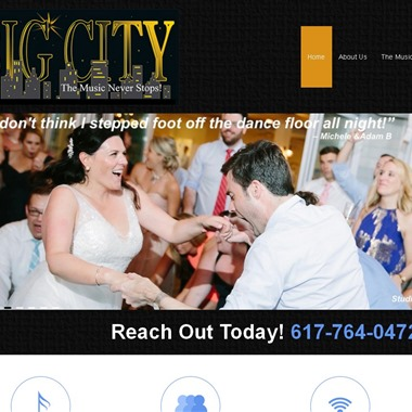 Big City Wedding Band wedding vendor preview