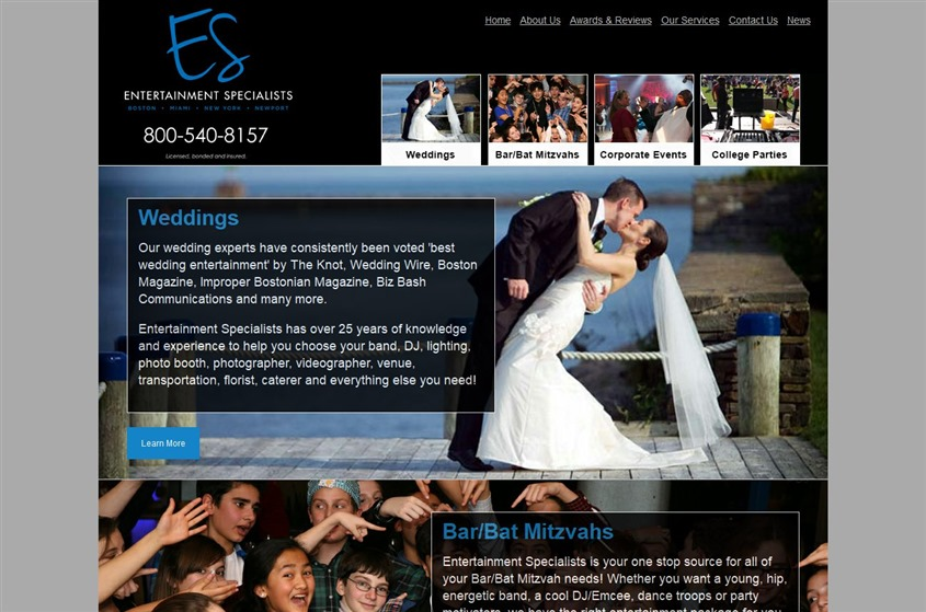 Entertainment Specialists wedding vendor photo