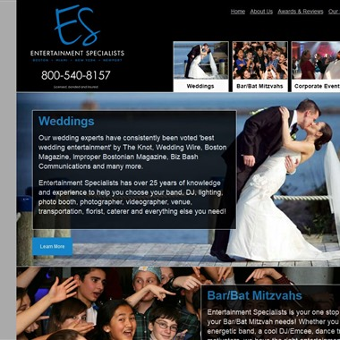 Entertainment Specialists wedding vendor preview