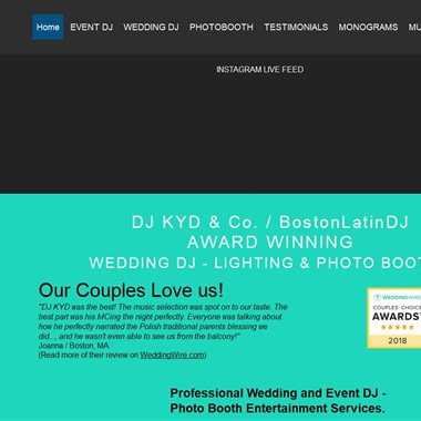 DJ Kyd and Co wedding vendor preview