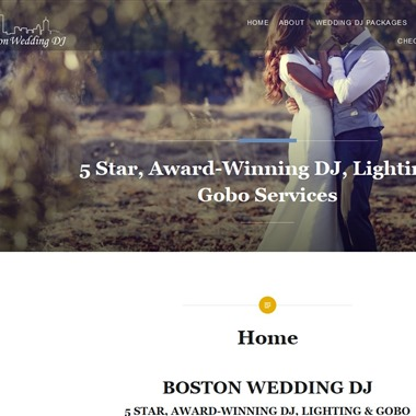 Boston Wedding DJ wedding vendor preview