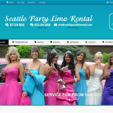 Seattle Party Limo Rental wedding vendor preview