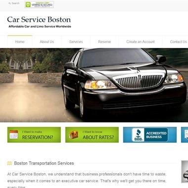Car Service Boston wedding vendor preview