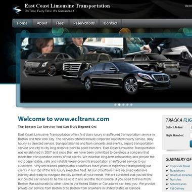 East Coast Limousine Transportation wedding vendor preview